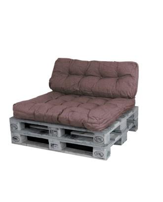 2 pagalvių komplektas paletėms,suolams,sofoms..